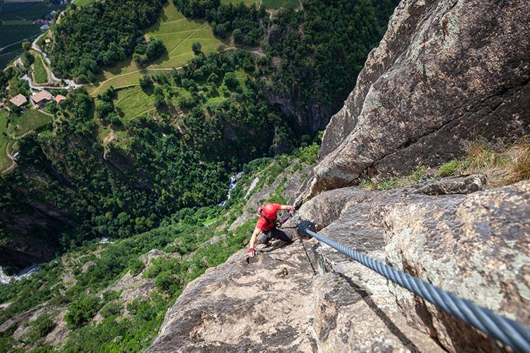 Klettersteig Naturns : Pension alpenland freizeittipps für plaus und naturns im meraner land
